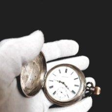 Relojes de bolsillo: RELOJ DE BOLSILLO 3 TAPAS PLATA QUALITE BOUTTE / HENRI LEUBA. Lote 190875138