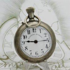 Relojes de bolsillo: SYSTEME ROSKOPF-GRAN RELOJ DE BOLSILLO-58 MM.-CIRCA 1890-1905-FUNCIONANDO. Lote 190984750