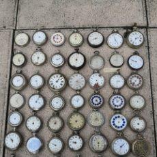 Relojes de bolsillo: ✨LOTE MIX (49)RELOJES DE BOLSILLO PIEZAS APASIONADOS. Lote 191019341