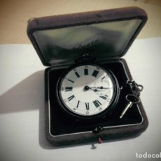 Relojes de bolsillo: RELOJ DE BOLSILLO -MARCA - ECHAPPEMENT CYLINDRE 8 RUBIS - BAULTE GENEVE FUNCIONANDO -PLATA -3 TAPAS. Lote 191069192
