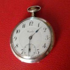 Relojes de bolsillo: RELOJ BOLSILLO ECCELSO DE PLATA, FUNCIONA PERFECTAMENTE.. Lote 191093666