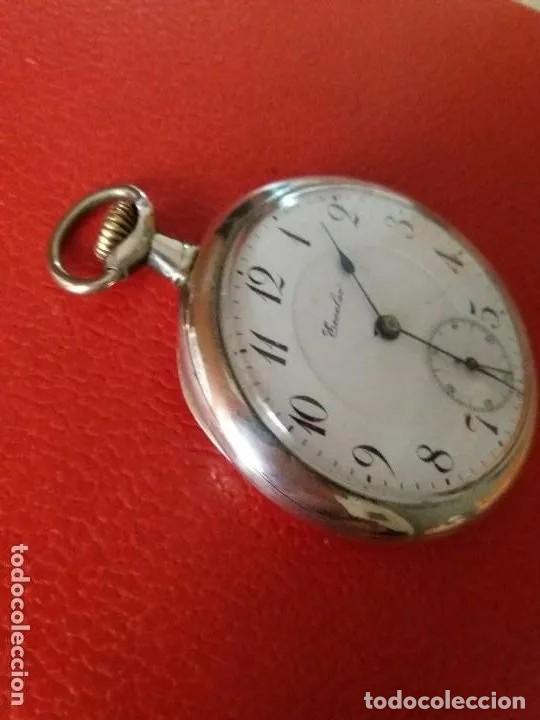 Relojes de bolsillo: RELOJ BOLSILLO ECCELSO DE PLATA, FUNCIONA PERFECTAMENTE. - Foto 2 - 191093666