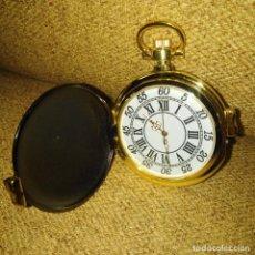 Relojes de bolsillo: RELOJ DE BOLSILLO, REPLICA DE UNO ANTIGUO, FUNCIONA CON PILAS. MUY BONITA REPLICA.. Lote 191174392