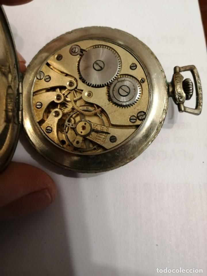 Relojes de bolsillo: RELOJ DE BOLSILLO DE LLAVE ¿PACIFIC ? - Foto 5 - 191420261