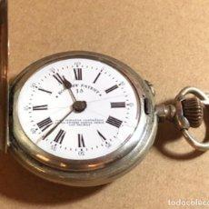 Relógios de bolso: RELOJ DE BOLSILLO ROSKOPF PATENT. LAS PALMAS. SABONETA. FUNCIONA. Lote 180331786