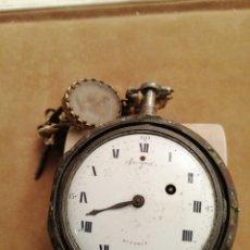 Relógios de bolso: RELÓGIO CORDA COM REPETIÇÃO DE HORAS BREGUET. Lote 191647311