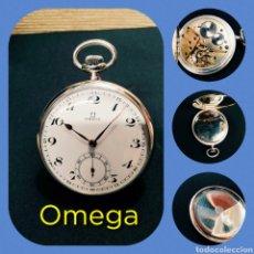 Relojes de bolsillo: RELOJ BOLSILLO OMEGA. 1920, FUNCIONANDO. Lote 191684351
