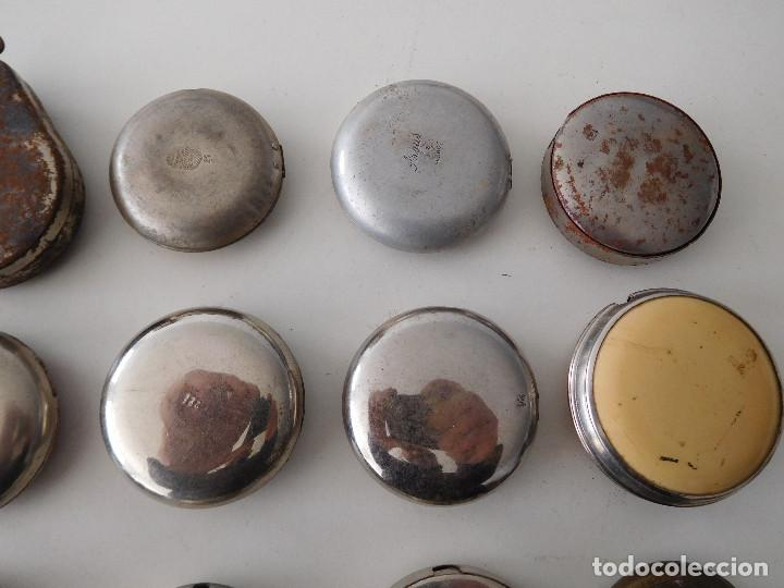 Relojes de bolsillo: Lote de 15 chichoneras antiguas para reloj de bolsillo - Foto 9 - 192058802