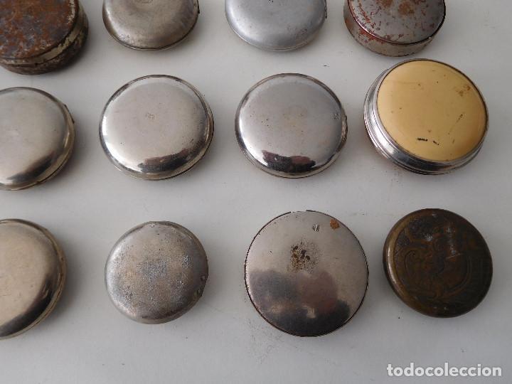 Relojes de bolsillo: Lote de 15 chichoneras antiguas para reloj de bolsillo - Foto 11 - 192058802