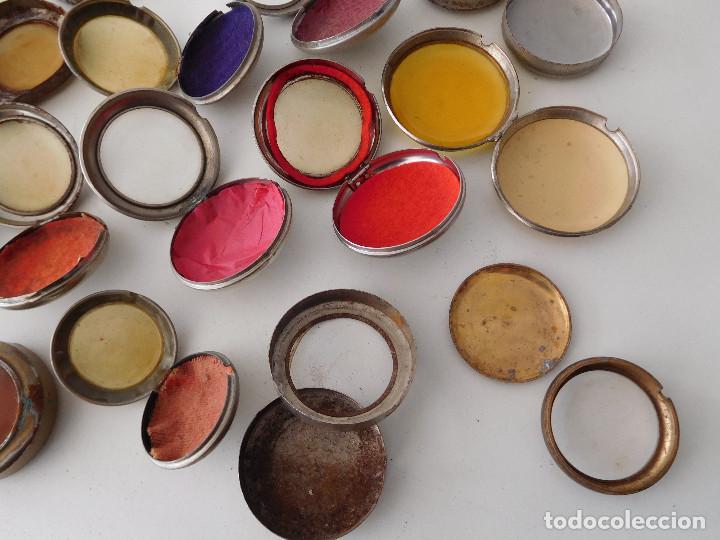 Relojes de bolsillo: Lote de 15 chichoneras antiguas para reloj de bolsillo - Foto 18 - 192058802