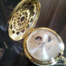 Relojes de bolsillo: RELOJ BOLSILLO DIA NOCHE MECANICO.. Lote 192159758