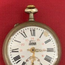 Relojes de bolsillo: ANTIGUO RELOJ DE BOLSILLO. FINALES DE SIGLO XIX. Lote 192168128