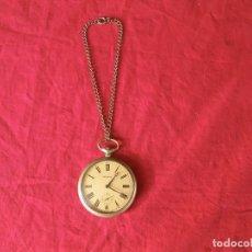 Relojes de bolsillo: ANTIGUO RELOJ DE BOLSILLO RUSO DE LA MARCA MOLNIJA AÑOS 60 VER. Lote 192248666