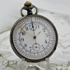 Relojes de bolsillo: MINERVA-CRONOGRAFO-SUIZA-PRECIOSO RELOJ DE BOLSILLO-CIRCA 1920-FUNCIONANDO. Lote 192378910