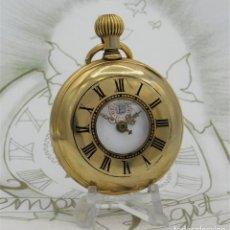 Relojes de bolsillo: REGULADOR-GRAN RELOJ DE BOLSILLO CAZADOR-CIRCA 1900-1910-FUNCIONANDO. Lote 192629237