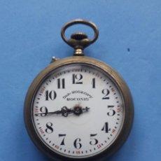 Relojes de bolsillo: RELOJ DE BOLSILLO ANTIGUO SIST. ROSKOPF ROCONIS. FUNCIONANDO. Lote 204974256