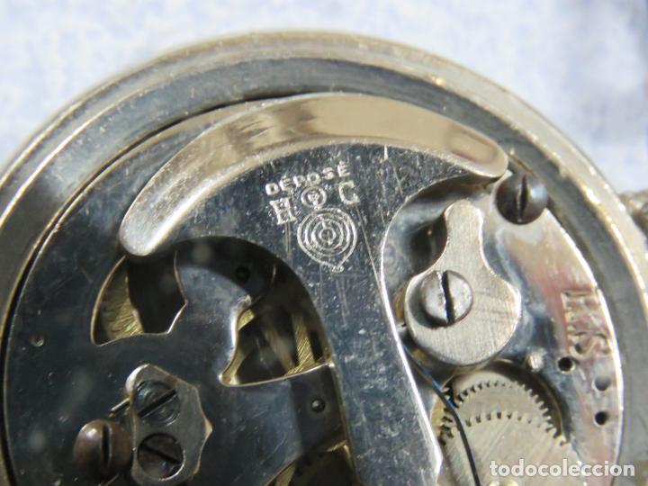 Relojes de bolsillo: RARO RELOJ DE BOLSILLO PODOMETRO CON LEONTINA FINALES DEL XIX - Foto 12 - 192784611