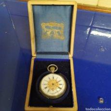 Relojes de bolsillo: RELOJ DE BOLSILLO DE PLATA. Lote 192900315