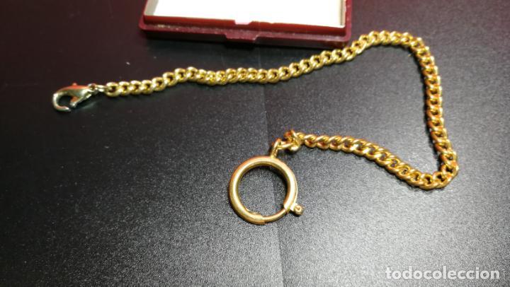 Relojes de bolsillo: LEONTINA CADENA DORADA PARA RELOJ DE BOLSILLO, SOBRE 24 cms de largo - Foto 24 - 194011301
