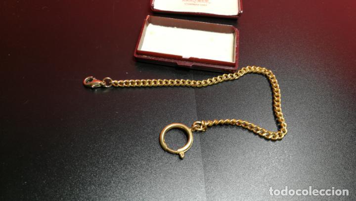 Relojes de bolsillo: LEONTINA CADENA DORADA PARA RELOJ DE BOLSILLO, SOBRE 24 cms de largo - Foto 30 - 194011301