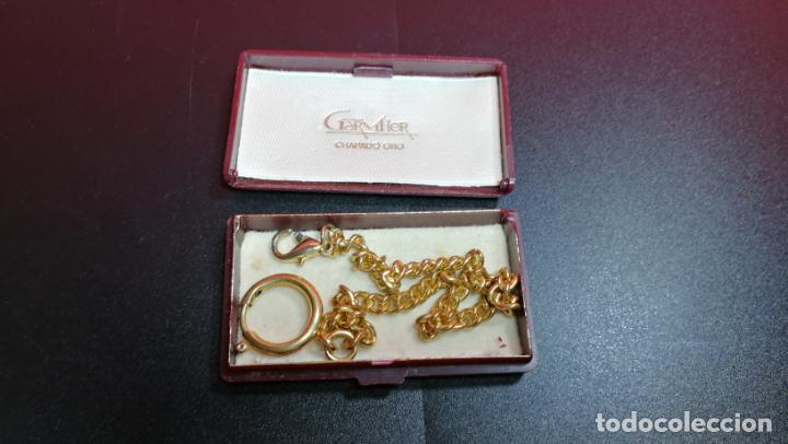 Relojes de bolsillo: LEONTINA CADENA DORADA PARA RELOJ DE BOLSILLO, SOBRE 24 cms de largo - Foto 35 - 194011301