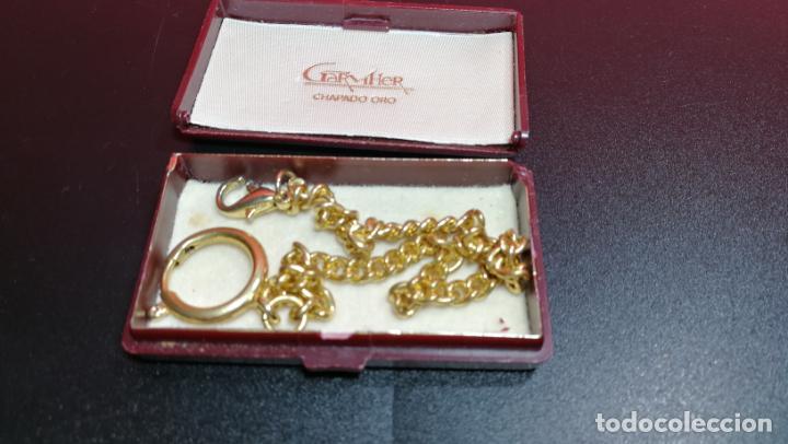 Relojes de bolsillo: LEONTINA CADENA DORADA PARA RELOJ DE BOLSILLO, SOBRE 24 cms de largo - Foto 43 - 194011301