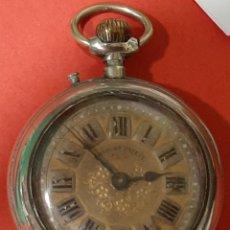 Relojes de bolsillo: ANTIGUO RELOJ DE BOLSILLO ROSKOPF PATENT. FUNCIONA CORRECTAMENTE.. Lote 194114620