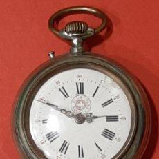 Relojes de bolsillo: ANTIGUO RELOJ DE BOLSILLO NON PLUS ULTRA. FUNCIONA.. Lote 194116567