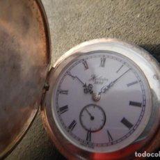 Relojes de bolsillo: RELOJ PLATA. Lote 194208197