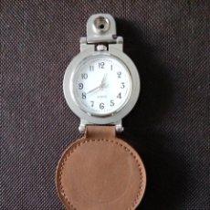 Relojes de bolsillo: RELOJ DE BOLSILLO QUARZO EN FUNCIONAMIENTO. Lote 194215807