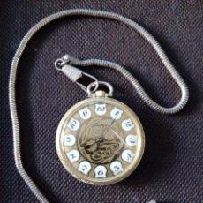 Relojes de bolsillo: RELOJ DE BOLSILLO LUCERNE MECANICO EN FUNCIONAMIENTO. Lote 194216113