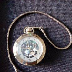 Relojes de bolsillo: RELOJ DE BOLSILLO MECANICO EN FUNCIONAMIENTO. Lote 194216310