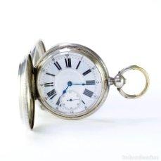 Relojes de bolsillo: M. FAVORITO. RELOJ DE BOLSILLO, SABONETA. SUIZA, CA. 1880.. Lote 194262897