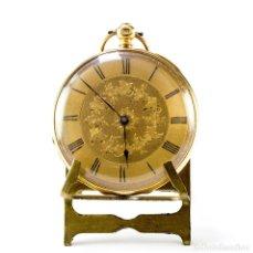 Relojes de bolsillo: C. STERNMETZ. RELOJ DE BOLSILLO-COLGAR, LEPINE. SUIZA, CA. 1890. ORO 18K.. Lote 194263387
