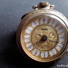 Relojes de bolsillo: RELOJ DE BOLSILLO DESPERTADOR DE VIAJE SUIZO,FUNCIONA PERFECTAMENTE. Lote 194266476