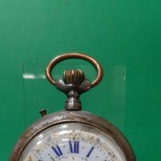 Relojes de bolsillo: RELOJ DE BOLSILLO, ERNESTO GUYE, BURGOS. FUNCIONA CORRECTAMENTE.. Lote 194271728