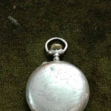 Relojes de bolsillo: RELOJ DE BOLSILLO MARCA PROGRESÓ PLATA DE 800 FUNCIONA. Lote 194298482