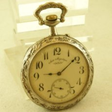 Relojes de bolsillo: DOXA GOLIAT 70MM FUNCIONANDO CAJA PESCADOR. Lote 194313276