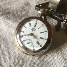 Relojes de bolsillo: RELOJ DE ESCAPE DE CILINDRO. FUNCIONA. ANTIGUO. Lote 194323591