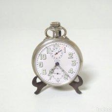 Relojes de bolsillo: UNICO ZENITH ALARMA FUNCIONANDO RELOJ DE BOLSILLO MAHATMA GANDHI. Lote 194338507