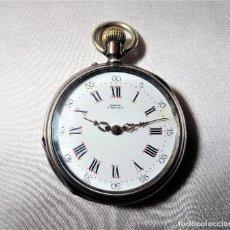 Relojes de bolsillo: LERRUN ANGENIS RELOJ DE BOLSILLO CILINDRO. Lote 194342691