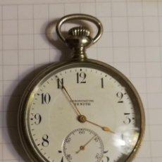 Relojes de bolsillo: RELOJ DE BOLSILLO ZENITH CON REVERSO DE TIPO ESQUELETO. Lote 194355288