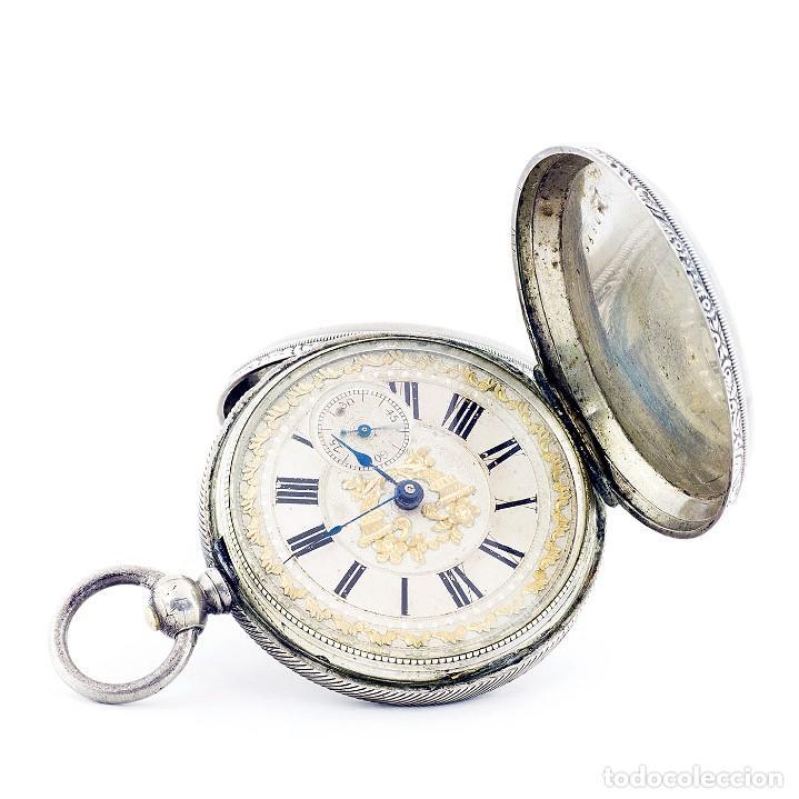 RT. ROSKELL (LIVERPOL). RELOJ DE BOLSILLO PARA CABALLERO, SABONETA. ENGLAND, CA. 1880. (Relojes - Bolsillo Carga Manual)