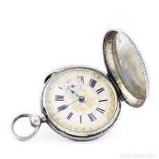Relojes de bolsillo: RT. ROSKELL (LIVERPOL). RELOJ DE BOLSILLO PARA CABALLERO, SABONETA. ENGLAND, CA. 1880.. Lote 194363565