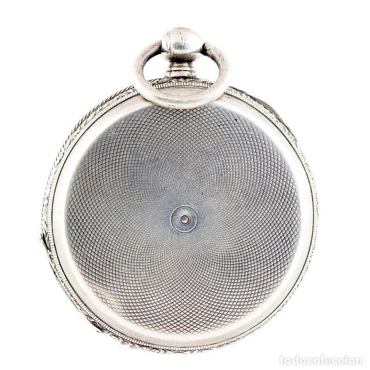 Relojes de bolsillo: RT. ROSKELL (Liverpol). Reloj de Bolsillo para caballero, saboneta. England, ca. 1880. - Foto 11 - 194363565