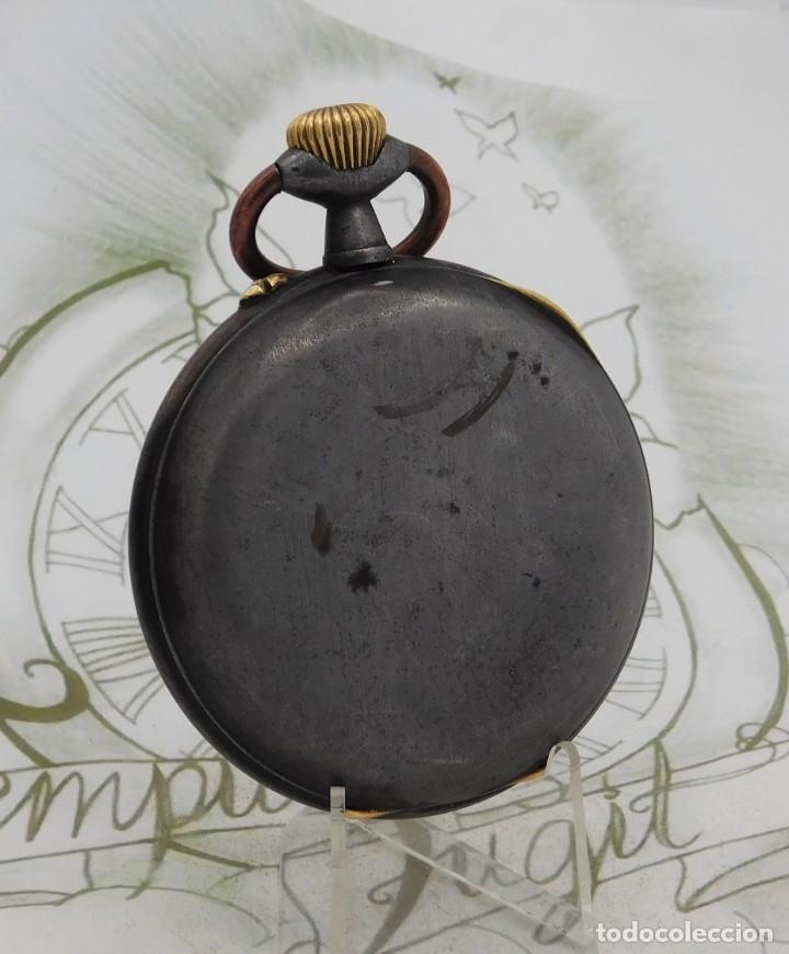 Relojes de bolsillo: INUSUAL Y GRAN RELOJ DE BOLSILLO-5 ESFERAS-FASE LUNAR-CALENDARIO-CIRCA 1880-FUNCIONANDO TODO - Foto 9 - 194511193