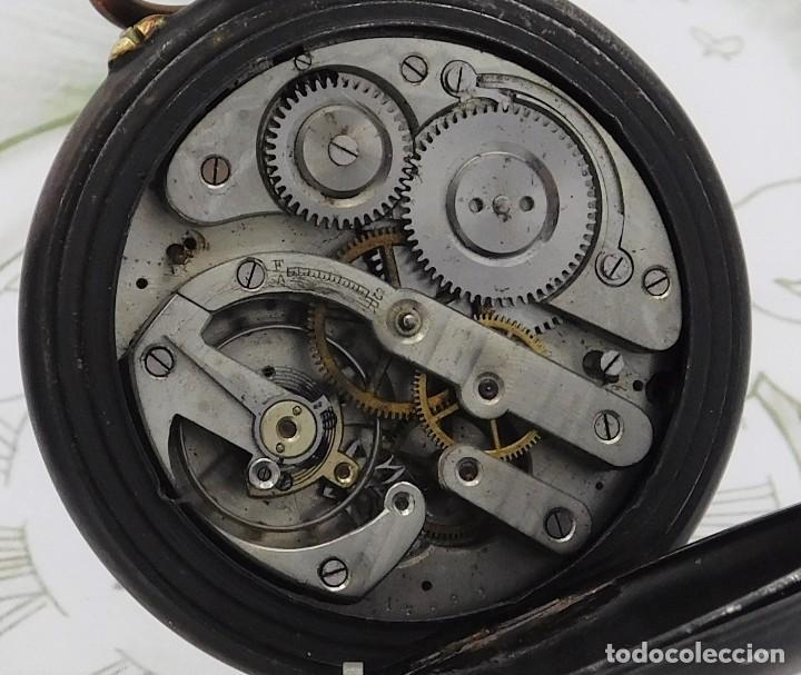 Relojes de bolsillo: INUSUAL Y GRAN RELOJ DE BOLSILLO-5 ESFERAS-FASE LUNAR-CALENDARIO-CIRCA 1880-FUNCIONANDO TODO - Foto 12 - 194511193