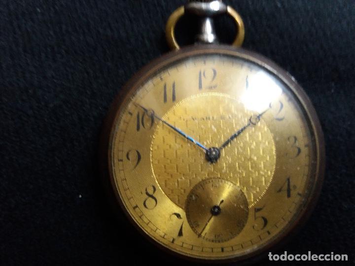 RELOJ DE BOLSILLO DE LA MARCA G. WAHL & (Relojes - Bolsillo Carga Manual)