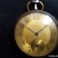 Relojes de bolsillo: RELOJ DE BOLSILLO DE LA MARCA G. WAHL &. Lote 194523360