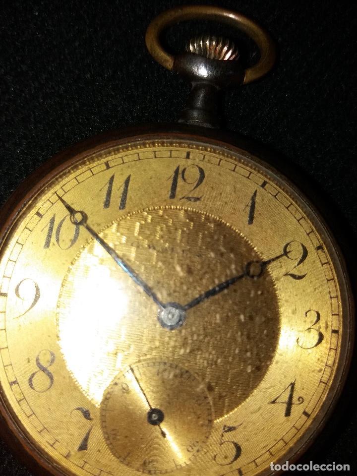 Relojes de bolsillo: RELOJ DE BOLSILLO DE LA MARCA G. WAHL & - Foto 2 - 194523360